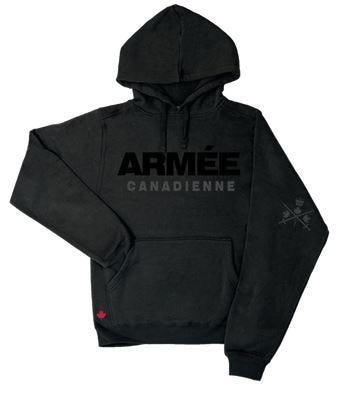 Armee Hommes Hoodie
