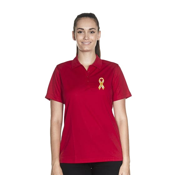 Suppoort Our Troops Women's Polo