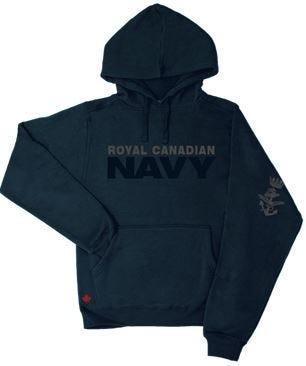 Navy Men's Fleece Hoodie