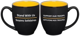 Support Our Troops Ceramic Mug