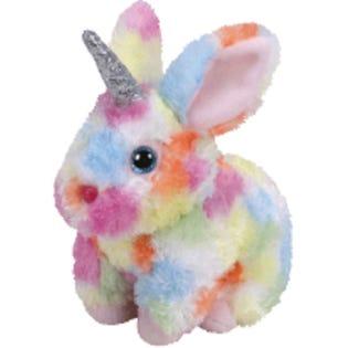 TY Begonia Unicorn Rabbit Med