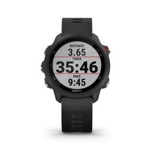 Garmin Forerunner 245 GPS Music Running Smartwatch and Fitness Tracker - Black 010-02120-20 (EA1)