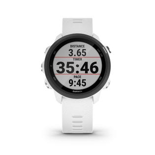 Garmin Forerunner 245 GPS Music Running Smartwatch and Fitness Tracker - White 010-02120-21 (EA1)