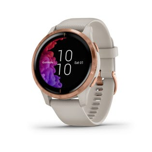 Garmin Venu GPS Smartwatch and Fitness Tracker with Incident Detection - Rose Gold 010-02173-21 (EA1)