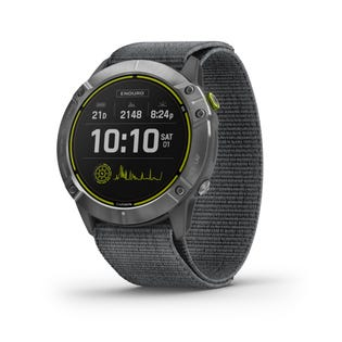 Garmin Enduro Ultraperformance Steel GPS Multisport Smartwatch with Nylon Band - Grey 010-02408-00 (EA1)