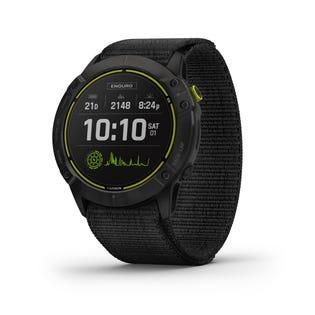Garmin Enduro Ultraperformance Titanium GPS Multisport Smartwatch with Nylon Band - Black 010-02408-01 (EA1)