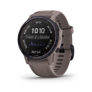 Garmin Fenix 6S Pro Solar Charging GPS Smartwatch Steel and Fitness Tracker with Incident Detection - Gray 010-02409-14 (EA1)