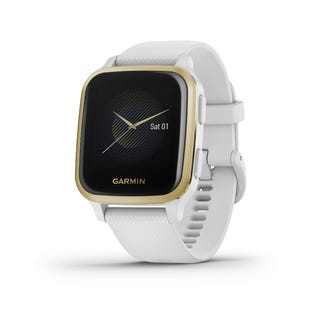 Garmin Venu Sq GPS Smartwatch and Fitness Tracker with Incident Detection White 010-02427-01 (EA1)