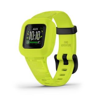 Bracelet d'activité Garmin Vivofit Jr.3pour enfants - Vert