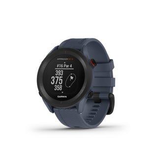 Garmin Approach S12 GPS Golfing Smartwatch - Granite Blue 010-02472-01 (EA1)