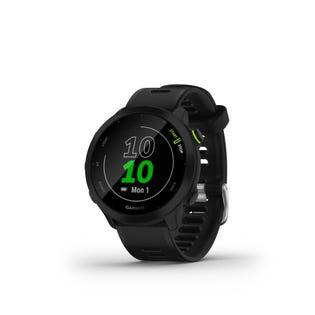 Montre intelligent de course et suivi de la condition physique Garmin Forerunner 55 GPS - Noir 010-02562-00 (EA1)