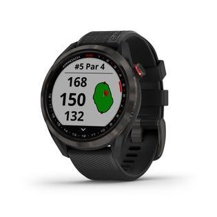 Garmin Approach S42 GPS Golfing Smartwatch - Black 010-02572-10 (EA1)