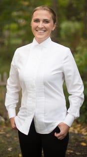 Womens Tuxedo Shirt