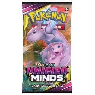 Pokemon Booster Pack The Unified Minds Release