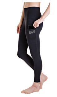 Navy Women's Leggings