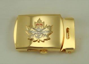 CIC Belt Buckle (Gold)