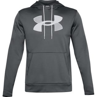 Under Armour Men's Fleece Big Logo Hoodie Grey