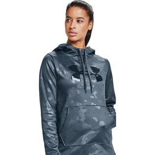 Under Armour Women's Big Logo Camo Shine Hoodie