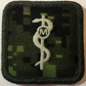 RCMS Med Tech Badge