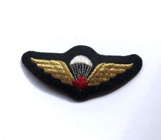 Parachutist Red Mess Dress Badge