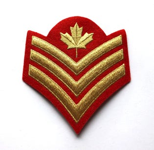 SGT Mess Dress Rank