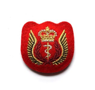 Flight Surgeon Mess Dress Badge