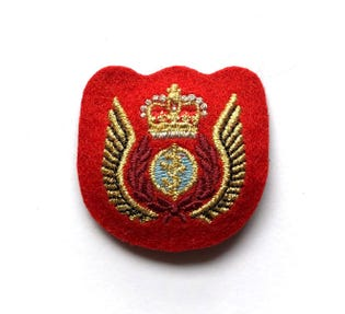Aeromedical Evac Mess Dress Badge
