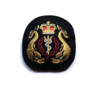 Diving Medical Officer Mess Dress Badge