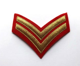 CPL Mess Dress Rank