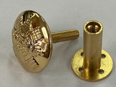 RHFC Screw Post Button 26L (2 Pack)