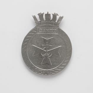 HMCS Cabot  Pewter Crest Magnet