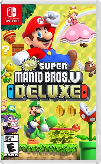 Switch New Super Mario Bros U Deluxe Game