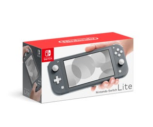 Switch Lite Console Bundle Grey