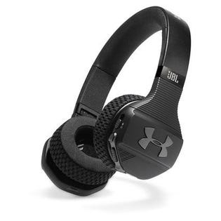 JBL Under Armour Train Wireless Sport Headphones Black UAONEARBTBLKAM