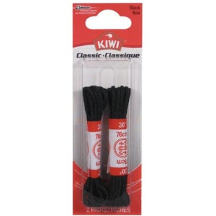 Kiwi Dress Laces Round Thin 30in/76cm Black