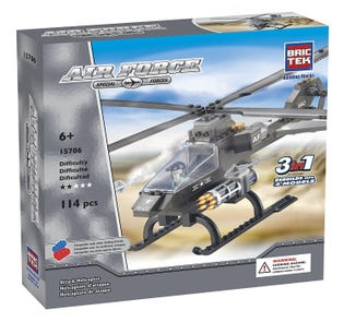 BRICTEK -  Air Force Attack Helicopter 3in1 (15706)