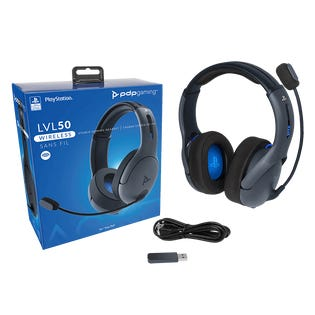 PDP LVL50 Wireless Headset PS4