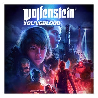 PS4 Wolfenstein: Youngblood Game
