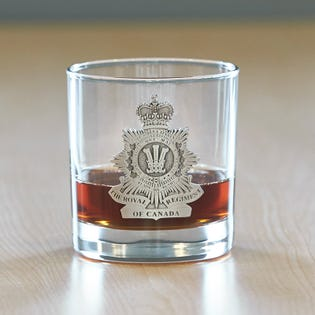 Royal Regiment of Canada Whiskey Glass