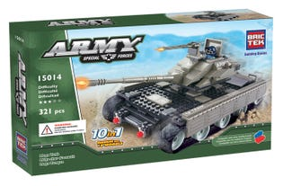 BRICTEK - Army Mega Tank 10in1 (15014)