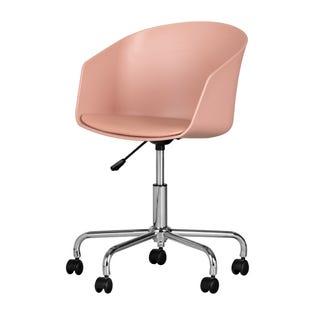 South Shore Flam Swivel Chair Pink/Chrome (EA1)