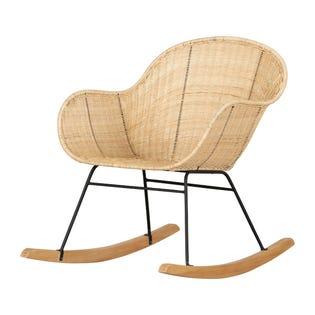 South Shore Balka Rocking Chair Rattan (EA1)
