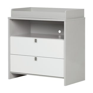 South Shore Cookie Changing Table Gray and White 10278 (EA1)