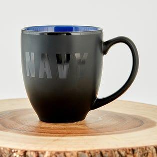 Navy Ceramic Coffee Mug