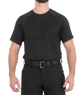 First Tactical Men's Training Short Sleeve T-Shirt Black (EA1)