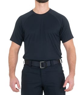 First Tactical Men's Training Short Sleeve T-Shirt Navy (EA1)