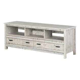South Shore Exhibit TV Stand up to 60'' Seaside Pine 11887 (EA1)