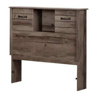 South Shore Ulysses Bookcase HBD with Doors Fall Oak 11912 (EA1)