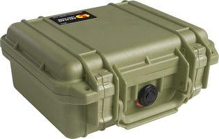 PELICAN small Case Green 1200