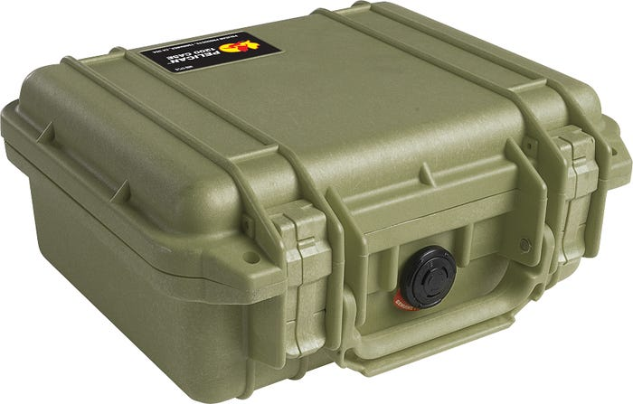 PELICAN small Case Green 1200